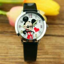Mickey Mouse Watch Ladies Women Watches Students Kids Sports Quartz