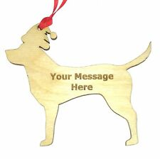 Personalizado Mascota Perro Labrador Retriever Decoración de árbol de Navidad Regalo De Navidad