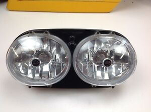 🔥98-13 OEM Genuine Harley Davidson Road Glide FLHT Head light Lamp OEM