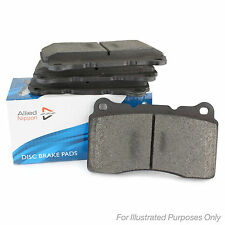 15.6mm Thick Allied Nippon Front Brake Pads Genuine OE Quality Braking Service