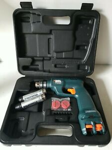 Black & Decker VP820 Cordless Drill with Batteries and Case
