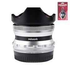 PERGEAR 7.5mm F2.8 Fisheye Manual Lens For Sony/ Fuji/ M4/3 Mount Cameras+Gift