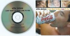 "ETTA JAMES: CD SINGLE PROMO ""I JUST WANT TO MAKE LOVE TO YOU"""
