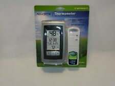 AcuRite Wireless Indoor/Outdoor Weather Station with Intelli-Time Clock