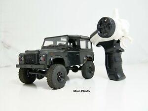RC4WD 1/18 Gelande II RTR w/D90 Body Set (Black)(Scratch and Dent) C-26