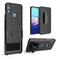 Cover for Moto E 2020 Belt Clip Holster Case with Tempered Glass ScreenProtector