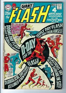 Flash #187 VF+ DC Silver Age 68 Page Square-bound Giant Infantino Art