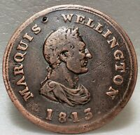 🍁 WE-7 Marquis Wellington 1813 Token Commerce Canada WEL-56 Breton 978 Canadian