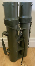 British Military Empty 81mm Mortar Double Drill Case