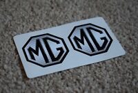 MG Motorsport Sport Classic Racing Rally Race Car Stickers Silver Grey 50mm
