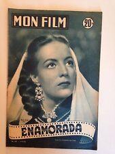 MON FILM N°303 1952 ENAMORADA / MARIA FELIX