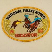 1980 NFR Rodeo Patch National Finals Vintage Team Roping Hesston