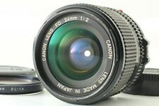 Canon New FD 24mm F/2 NFD MF Wide Angle Prime Lens From Japan