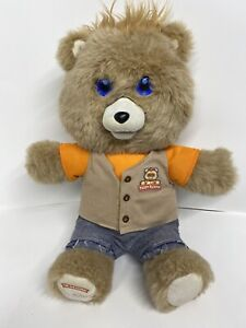 Teddy Ruxpin 2017 Animated Storytelling Bear Bluetooth LCD Eyes Tested Works