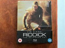 RIDDICK UK Blu-ray Steelbook NEW & SEALED. Rare. Vin Diesel Sci-Fi Action.