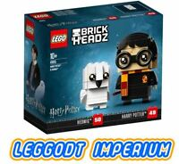 LEGO Harry Potter Brickheadz - Harry & Hedwig - New + Sealed 41615 - FREE POST