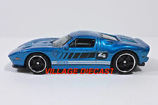 "2016 Matchbox ""Exotic"" 2005 Ford GT BLUE METALLIC/MINT"