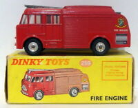 Vintage Dinky 259 - Fire Engine - Red