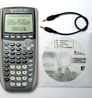 Texas Instruments TI-84 Plus Silver Graphing Calculator YELLOW