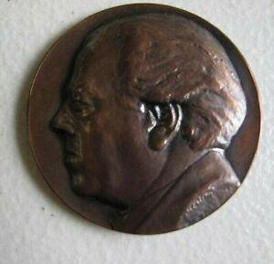 Heitor Villa Lobos ( Latin American composer )1887-1959 Bronze medal