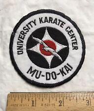 University Karate Center Mu-Do-Kai Florida FL Martial Arts Patch