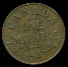 1935 Canada King George V, Small Cent, AU