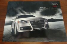 AUDI TT BROCHURE 2008 COUPE ROADSTER QUATTRO COLLECTIBLE ADVERTISING CABRIO