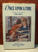 Once upon a Time by Pamela Prince 1988 HC/DJ First Edition Jessie Wilcox Smith
