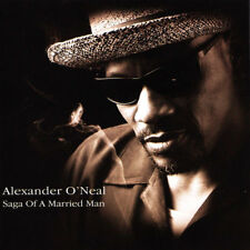 Alexander O'Neal: Saga of a Married Man    new cd  in seal