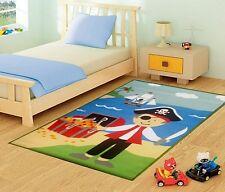 Children 80x120CM Rug Pirate Treasure Design Mat - Beautiful Modern Kids Playmat