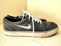 Nike Satire Armory Slate Suede SB SK8 Shoes 536404-414 Mens Youth Boys Size 8