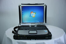 Plateado LAPTOP Panasonic cf-19 Mk3 touch Core 2 Duo 2GB 160gb Windows 7 Tipo B