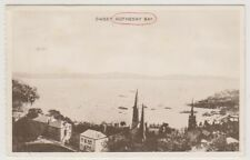 Bute postcard - Sweet Rothesay Bay - P/U 1924