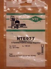 NTE977 ECG977 SK3462 LM78L05 +5V 100mA 3-Terminal Positive Voltage Regulator NEW
