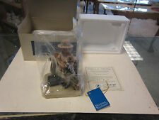 "1981 Norman Rockwell "" Vacation's Over "" Figure Blue Box"