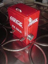 Nice Older Drink Coca Cola Ice Cold Chest Type Toothpick Holder Dispenser