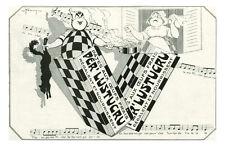 Publicité ancienne pâtes Per Lustucru 1930 Farcy issue de magazine