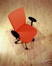 Office Chair Mat Hard Floor Protection PVC 1143x1346mm