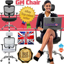 Executive Office Computer Desks Chair Mesh Seats Highs Back Ergonomic Adjustable