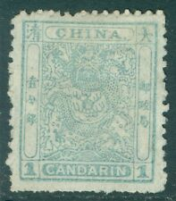 CHINA : 1885. Scott #10 Very Fine, Mint No Gum. Nice for this issue Catalog $200
