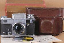 Kiev-IIIA & Jupiter-8m 2/50mm Contax 35mm Soviet rangefinder film Camera Vintage