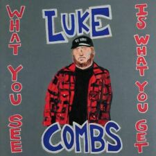 Luke Combs - What You See Is What You Get Album, Audio Music CD