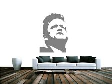 Johnny Cash Stencil A5 A4 A3 A2 A1 A0 options from 350 micron Mylar FAM050