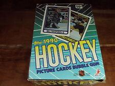 1990 Topps Hockey Box (36 MINT Wax Packs) Look for Top 1990 NHL Rookies