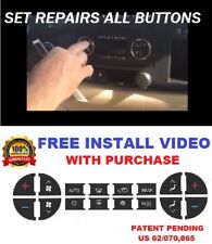 2007-2013 GMC YUKON SLE SLT AC BUTTONS CLIMATE CONTROL REPAIR DECALS