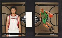 2008-09 Topps Co-Signers Basketball Changing Face Gold CF22 Ray Allen/CF27 Ming