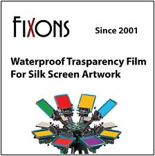 "Waterproof Inkjet Transparency Film 24"" x 100' - 5 Roll"