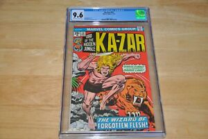 KA-ZAR #12 CGC 9.6 NM+, Moench-s/Heath-a, OW/W Pages!!