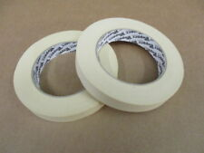 2 ROLLS 18mm X 50m TOPPER PAPER MASKING TAPE INTERIOR DECORATING/SPRAY PAINTING