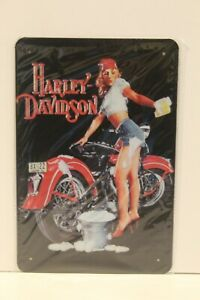 HDMS19 Harley-Davidson Metal Sign New 30 cm H X 20 cm W